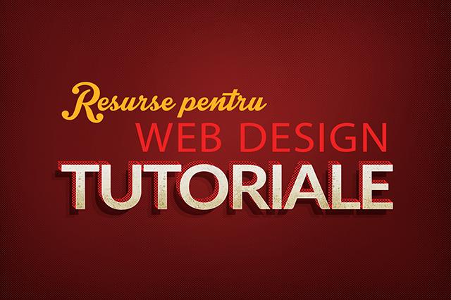 resurse pentru web design: tutoriale