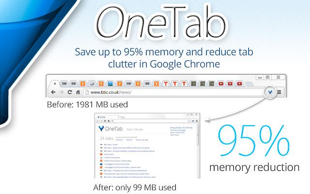 extensii de browser OneTab