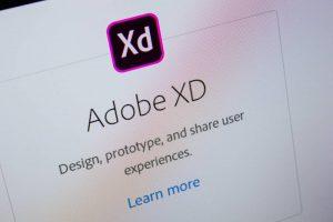 Adobe XD web design
